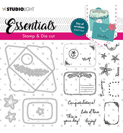 Studio Light - Stamp & Die Cut Essentials - BASICSDC57