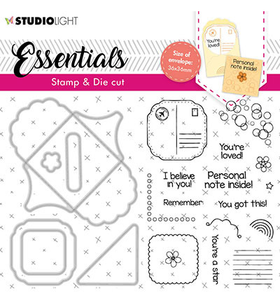 Studio Light - Stamp & Die Cut Essentials - BASICSDC58