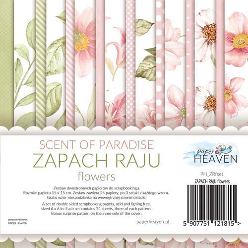 Paper Heaven - Paperpad 15 x 15 cm - Scent Of Paradise