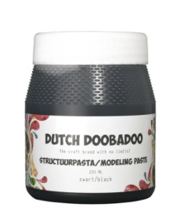Dutch Doobadoo - Structure Paste - Black