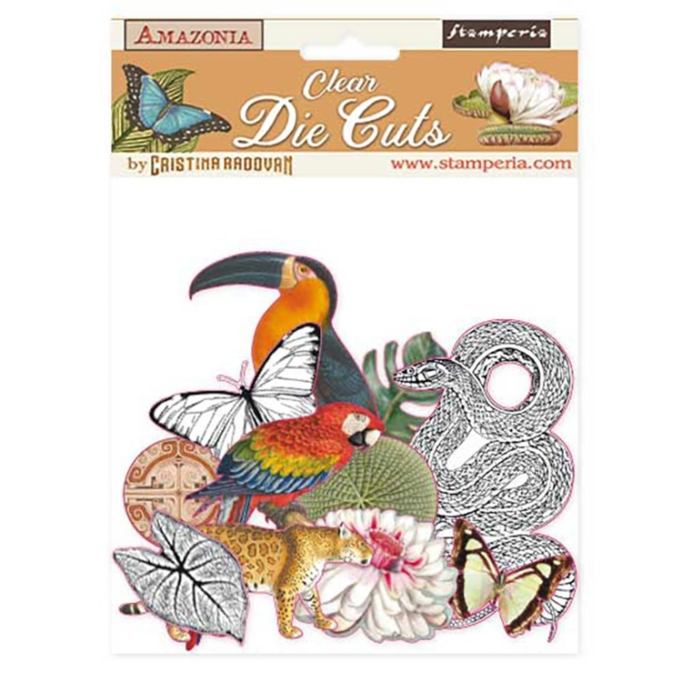 Stamperia - Clear Die Cuts - Amazonia