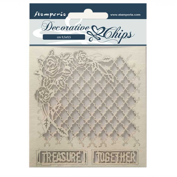 Stamperia - Decorative Chips - Treasure together