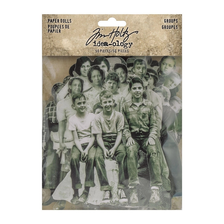 Tim Holtz - Idea-Ology - Paper Dolls Groups