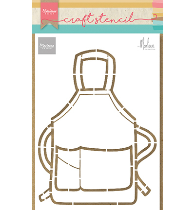 Marianne Design - Craft Stencil - Apron by Marleen