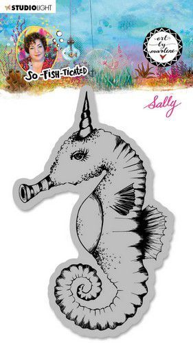 Studio Light - ART BY MARLENE - So-Fish-Ticated - Cling Stamp - BM-SFT-STAMP16