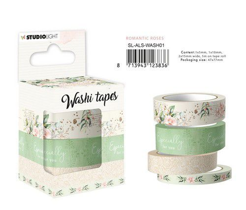 Studio Light - Another Love Story - Washi Tape - SL-ALS-WASH01