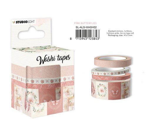 Studio Light - Another Love Story - Washi Tape - SL-ALS-WASH02