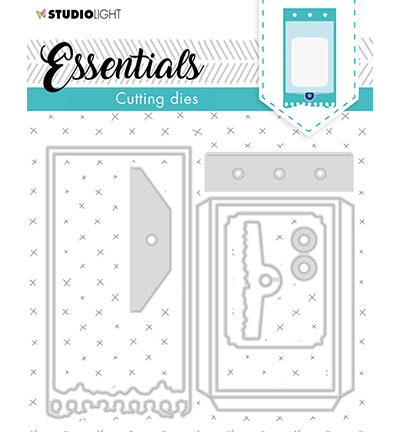 Studio Light - Cutting Die Essentials - Instant film photo frames nr11