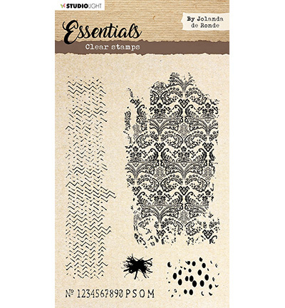 Studio Light - Essentials By Jolanda de Ronde - Clearstamp - STAMPBJ03