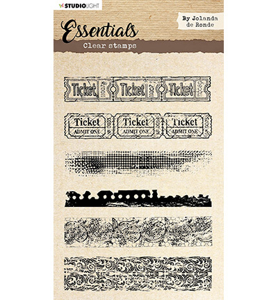 Studio Light - Essentials By Jolanda de Ronde - Clearstamp - STAMPBJ02