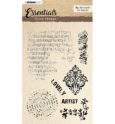 Studio Light - Essentials By Jolanda de Ronde - Clearstamp - STAMPBJ01