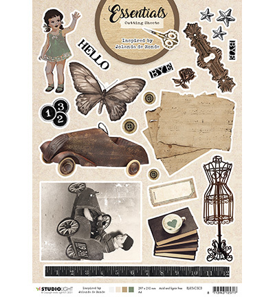 Studio Light - Essentials By Jolanda de Ronde - Cutting Sheet - nr.3