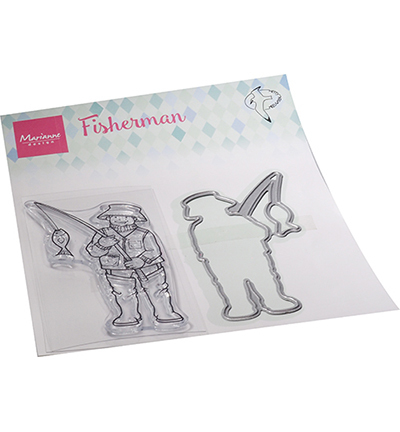 Marianne Design - Stamp & Die Set - Hetty's Fisherman