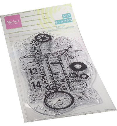 Marianne Design - Clearstamp - Art Stamp - Airplane