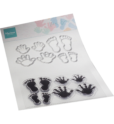 Marianne Design - Stamp & Die Set - New born