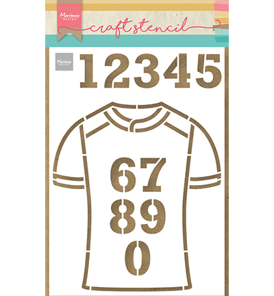 Marianne Design - Craft Stencil - Team shirt