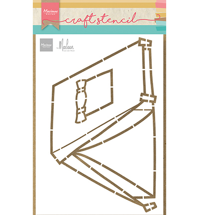 Marianne Design - Craft Stencil - Tent by Marleen