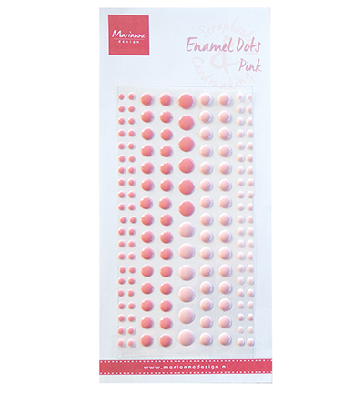 Marianne Design - Enamel dots - Two Pink
