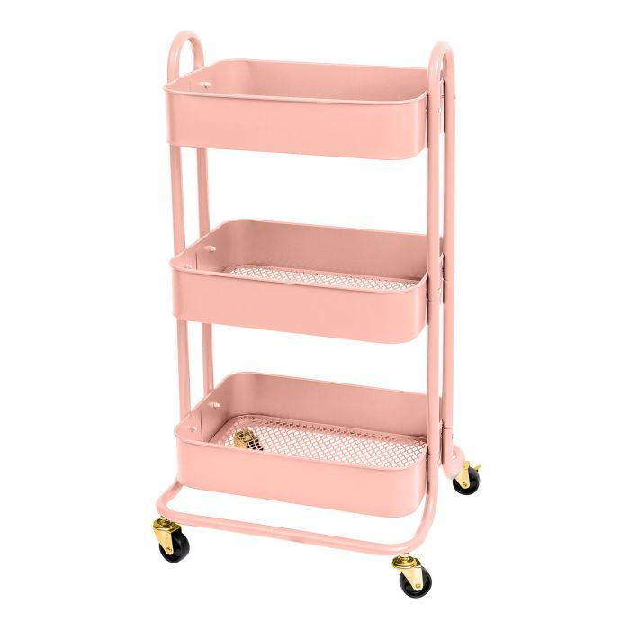 We R Memory Keepers - Storage Cart - Pink