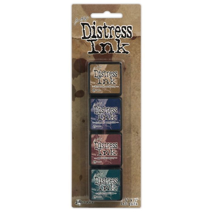 Distress inkt Mini - Set - Kit 12