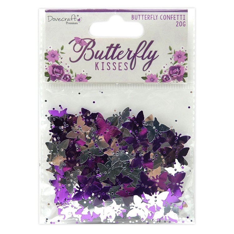 Dovecraft - Butterfly Kisses - Butterfly Confetti
