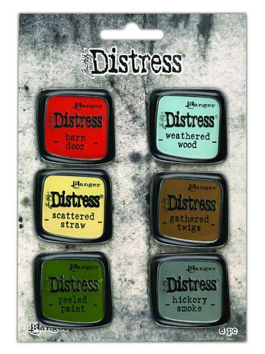 Tim Holtz - Distress Enamel Pin - Set 7