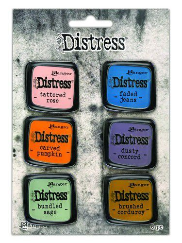 Tim Holtz - Distress Enamel Pin - Set 8