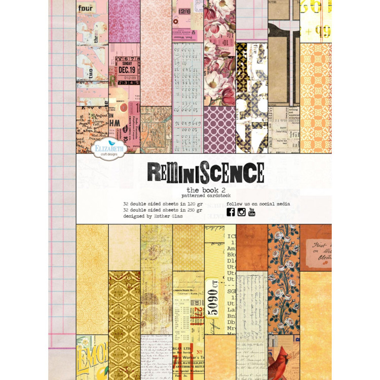 Elizabeth Craft Design - Reminiscence The Book 2 - A4