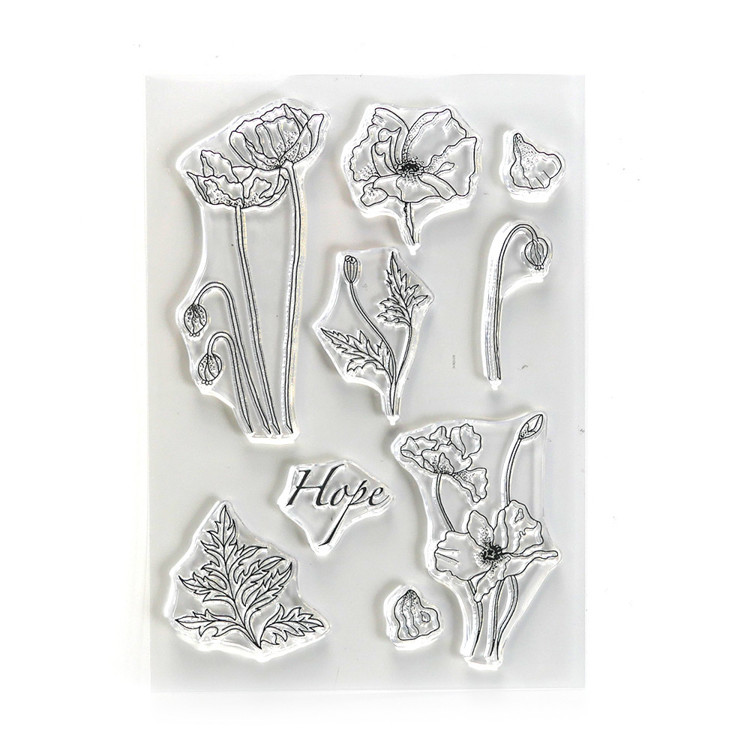 Elizabeth Craft Designs - Clearstamp - Hope
