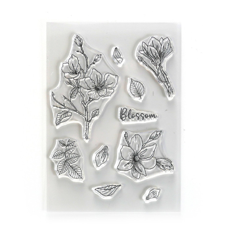 Elizabeth Craft Designs - Clearstamp - Blossom