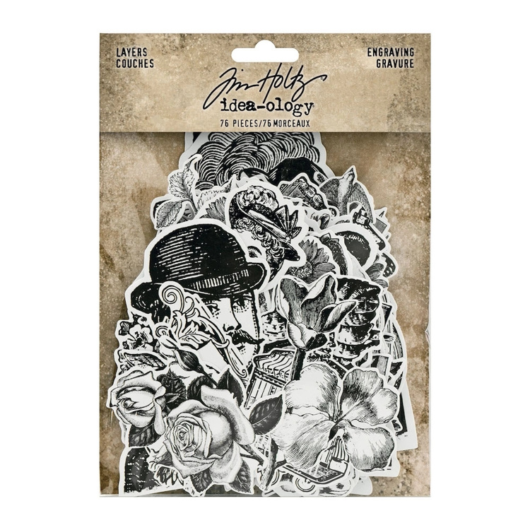 Tim Holtz - Idea-Ology - Layers Engraving