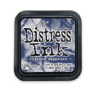 Distress Inkt - Chipped sapphire