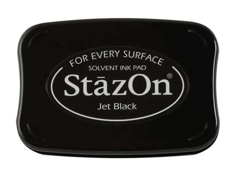 stempelinkt  - StazOn - Jet Black