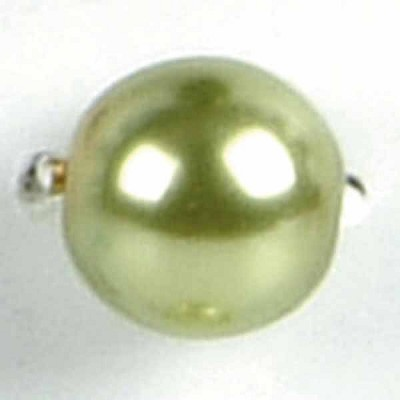 Glasparels - lime groen - 12mm