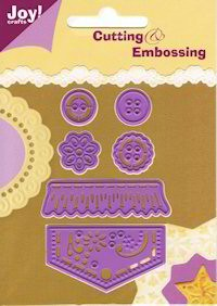 Joy! Crafts Cutting & Embossing - 6002/0062