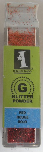 Inkadinkado Glitter Powder - Red