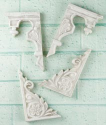 Melissa Frances - Shabby Chic - Stair Ornament