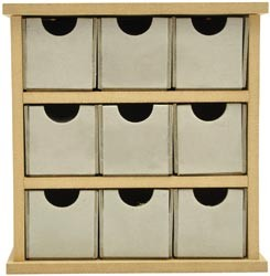 Beyond The Page MDF Mini Drawers