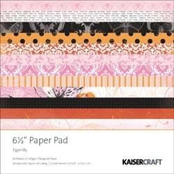 Paperpad Kaisercraft - Tigerlilly