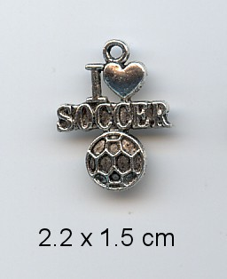 AS - Charms I love soccer