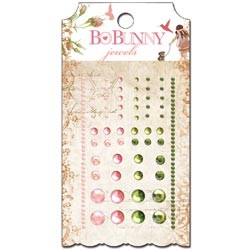Bo Bunny- Little Miss Self-Adhesive Jewels