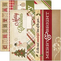"Scrappapier - Simple Stories - Handmade Holiday - 2""x12""& 4""x12"" Title Strips"