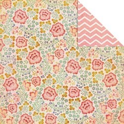 Scrappapier - MME - The Sweetest Thing - Lavender - Fabulous Flowery