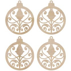 Kaisercraft - Wood Flourishes - Mini Ornaments