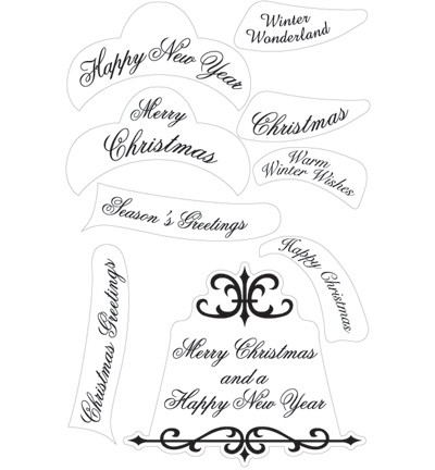 Marianne Design - Christmas Wishes (Engels)