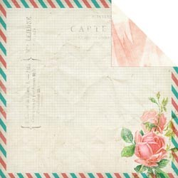 Scrappapier Glitz - Hello Friend - Envelope
