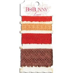 Bo Bunny - Lace Trim Wildberry
