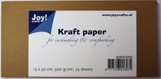 Joy! Crafts - Joy! Crafts -  Kraft cardstock 15 x 30 cm