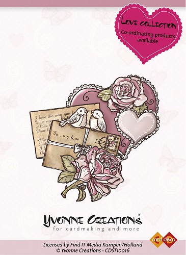 Yvonne Creations - Stamps - Valentine - Heart