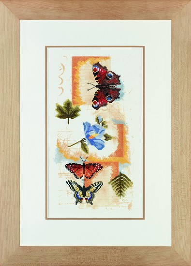 Lanarte - Animal Collection - Butterfly Collage